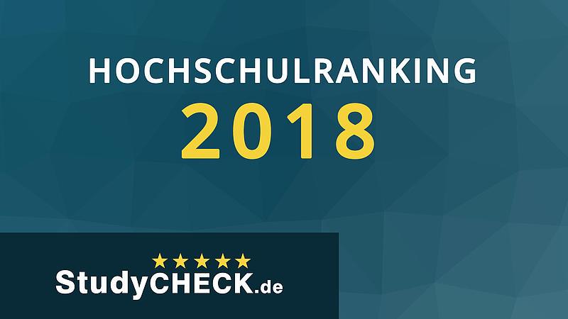 Beim Hochschulranking von StudyCheck belegt die HSZG Platz sieben und ist damit auch Sachsens beliebteste Hochschule