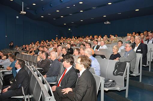 Die Absolventenvorträge rund um das Thema Energiewende stießen im Auditorium auf reges Interesse, Foto: HSZG