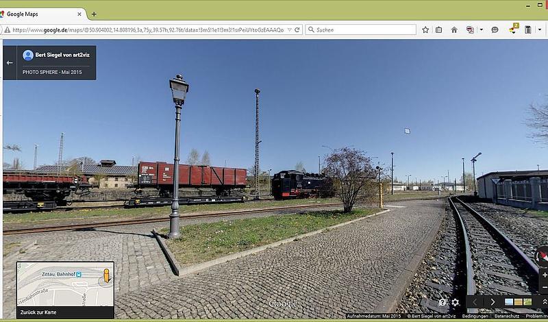 18 Kilometer lange Strecke kann nun an 41 Standorten virtuell besichtigt werden