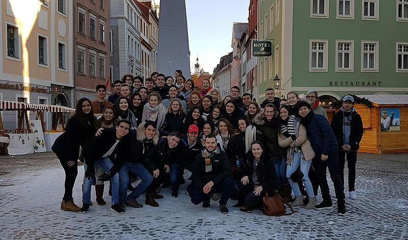 MINT–Mobility–Trail mit 30 Gastschülern der deutschen Schule Santa Cruz/Bolivien und 16 deutschen Schülern