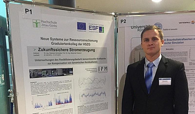 Mitarbeiter vom IPM und Fakultät Maschinenwesen erarbeiteten Posterbeiträge zu Fragestellungen der Energietechnik