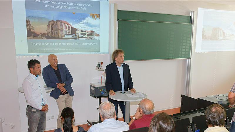 Haus ZI – Das sanierte Stammhaus der HSZG präsentierte sich der interessierten Öffentlichkeit
